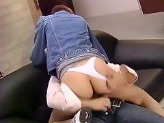 Short Hair Foxy White Panties Fraulein
