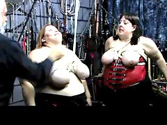 Bbw Fat Breasts Zippered With Ropes