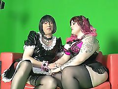 Sextape Germany Emo Delight With A German Bbw Fucking A Bizarre Dude