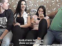 Party Girls Sucking And Fucking Their Friends