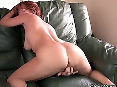 Redheaded Mom Plays With Her Nipples And Pussy Compilation