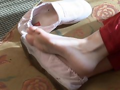 Sexy Soccer Mom Feet At Home