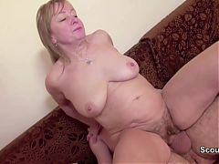Mom And Dad In First Time German Porn Casting