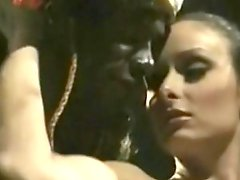 Daniella Rush Threesome In The Jungle With Two Black Natives