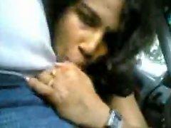 Nice Indian Girl Sucking Dick In Car Nice Reaction