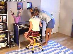 Valerie And Romana Study