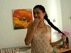 Uzbek Girl Wants Big Russian Cock