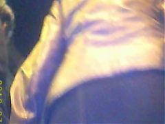 Upskirt MILF In Mini Skirt With Stokings And No Panties!