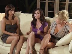 Brandin Rackley Melissa Jacobs And Reena Sky Pleasure Spa