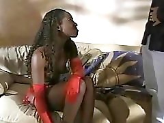 Ebony Handjob From A Nice Girl