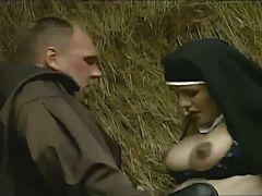 Pregnant Nun Anal Fuck