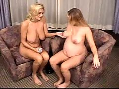 Pregnant And Mature In Pussy Dilation