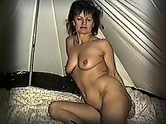 Yvonne Gets Naked In A Tent