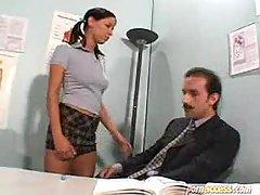Hot Schoolgirl With Her Teacher