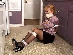 Brigette Paris Milf Tied Up