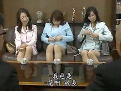 Japanese Milf Teacher Orgy