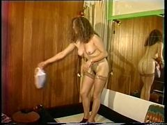 Sexy Lady Strips For Private Show And Fucks Horny Men