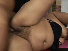 Fat Woman Rides A Cock