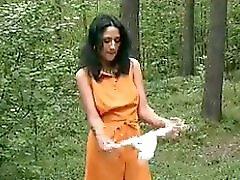 Pissen Im Wald