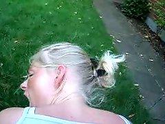 Webman Swedish Girl Fucked Doggystyle Outside