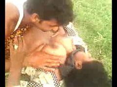 Desi Indian Big Boob Aunty Captured Outdoor Part 3