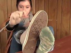 Sweaty Socks Shoes Feet
