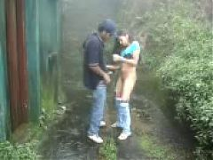 Shameless Desi Girl Got Fucked By Her Bf In Backyard