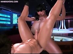 Busty Shemale With Big Cock Fucking