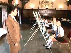 British Georgina Smith In A Lesbian Headmistress Scene