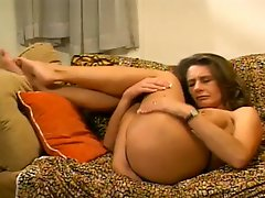 Milf Cheryl's Cunt And Asshole Can Accomodate This Huge Cock
