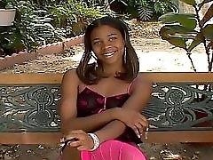 Cute Young Black Girl Kimberly Sparkle