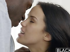 Blacked Megan Rains First Experience With Bbc Part 1