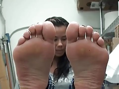18 Years Old Cuban Teen Hot Soles Feet Foot Ayak Taban