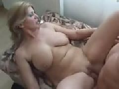 Natural tits creamed amateur milf